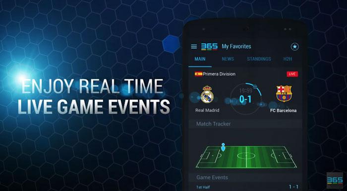 365Scores Live Sports دانلود 365Scores: Sports Scores Live v5.1.5 نتایج زنده مسابقات اندروید
