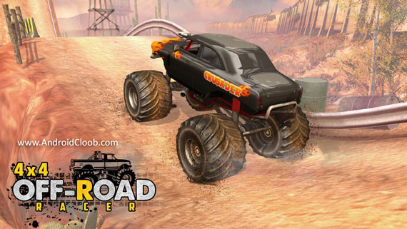 4X4 OffRoad Racer دانلود 4X4 OffRoad Racer   Racing Games v1.2 بهترین بازی آفرود اندروید + مود
