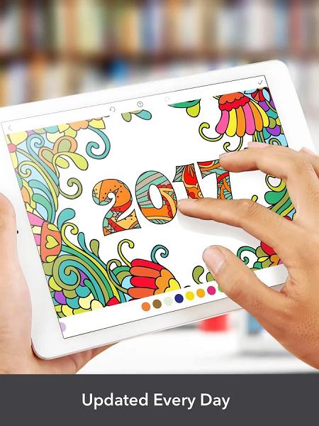 5 2 دانلود InColor – Coloring Book Premium v1.2.1 نرم افزار کتاب نقاشی اندروید