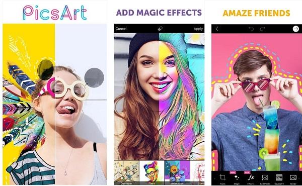 5 31 دانلود PicsArt Photo Studio v9.9.3 برنامه پیکس آرت نسخه هک شده اندروید