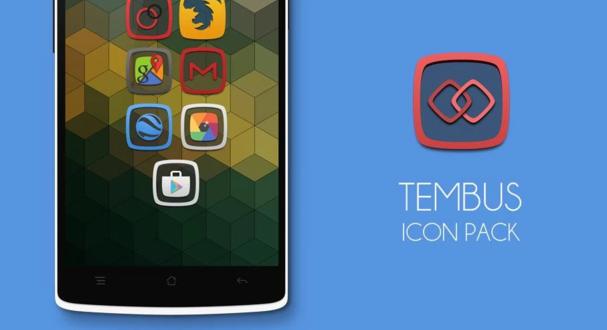 5 دانلود Tembus – Icon Pack v3.3.1 نرم افزار پک آیکون اندروید