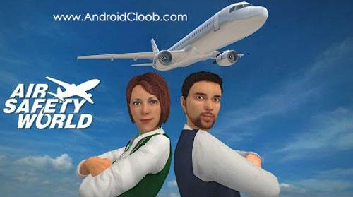 Air Safety World دانلود Air Safety World v1.0 بازی پرواز امن اندروید + مود
