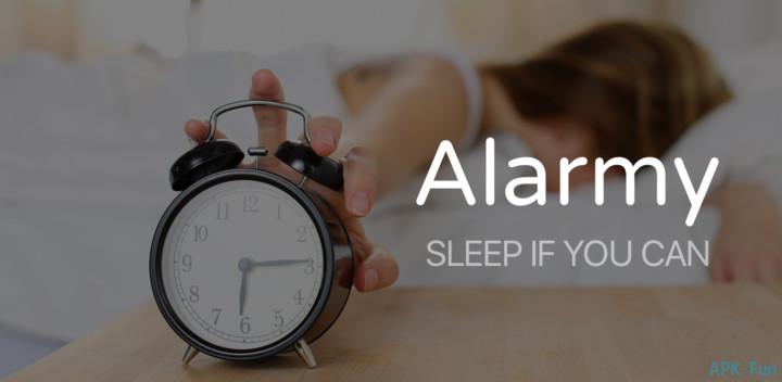 Alarmy Sleep If U Can Pro دانلود Alarmy (Sleep If U Can)   Pro v4.8.5 برنامه اگه میتونی بخواب اندروید
