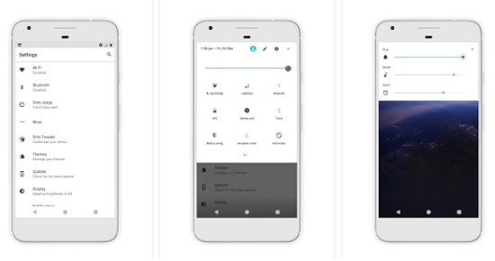 Android O theme دانلود Android O theme v1.7 تم اندروید 8 اندروید