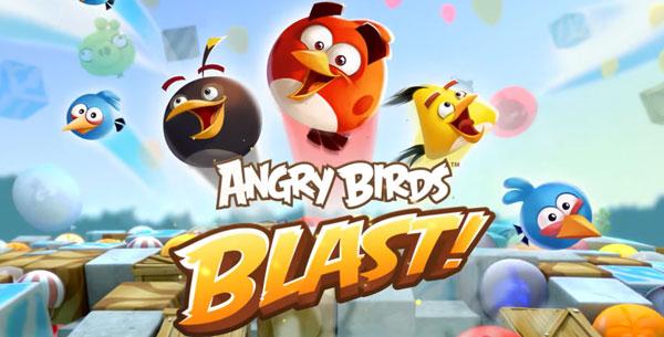Angry Birds Blast دانلود Angry Birds Blast v1.3.4 بازی انفجار پرندگاه خشمگین اندروید + مود