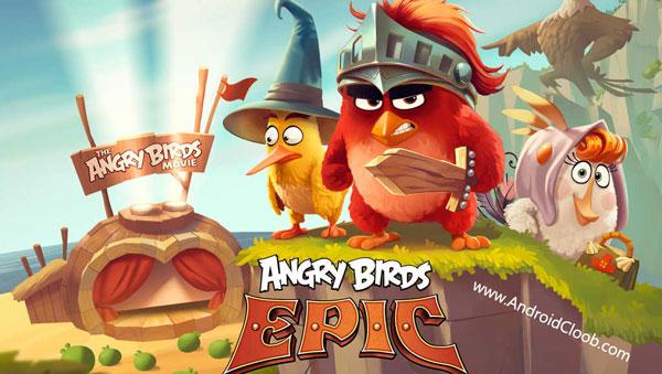 Angry Birds Epic RPG دانلود Angry Birds Epic v2.1.26 بازی انگری بردز اپیک اندروید + مود