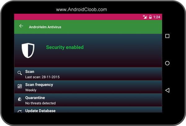 AntiVirus for Tablets دانلود AntiVirus for Tablets v2.5.5 ویروس کش تبلت اندروید