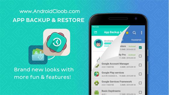 App Backup and Restore دانلود App Backup & Restore v1.0.1 بهترین نرم افزار بکاپ گیری اندروید