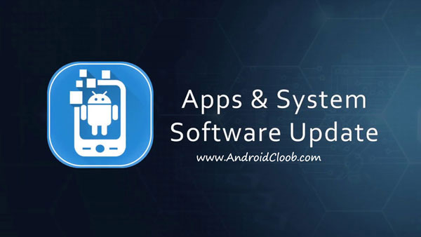 Apps and System Software Update دانلود Apps & System Software Update v1.4 برنامه به روز رسانی اندروید