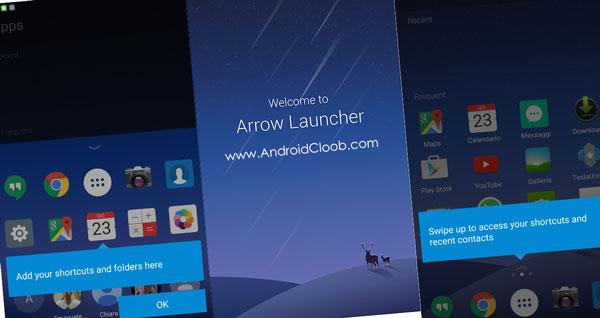 Arrow Launcher دانلود Arrow Launcher v3.7.0 بهترین لانچر مایکروسافت اندروید