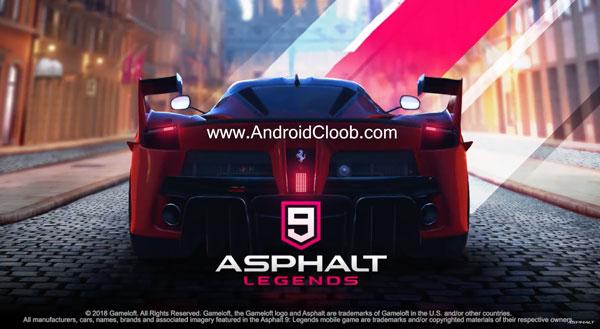 Asphalt 9 Legends دانلود Asphalt 9: Legends v2.1 بازی اسفالت 9 افسانه ها اندروید