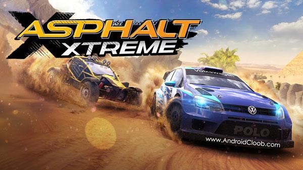 Asphalt Xtreme دانلود Asphalt Xtreme: Rally Racing v1.4.2b بازی آسفالت 9 اندروید + آنلاک