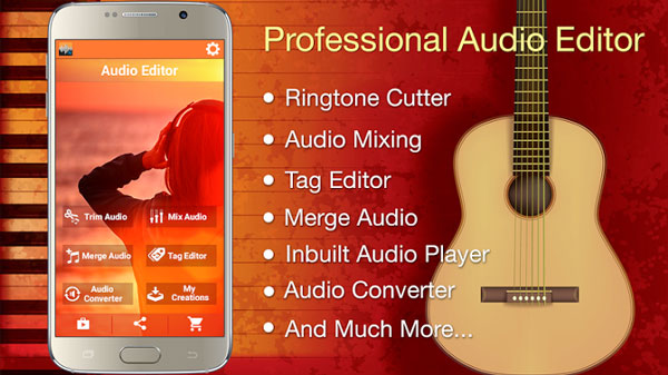Audio MP3 Cutter Mix Converter دانلود Audio MP3 Cutter Mix Converter PRO v1.49 میکس موزیک اندروید