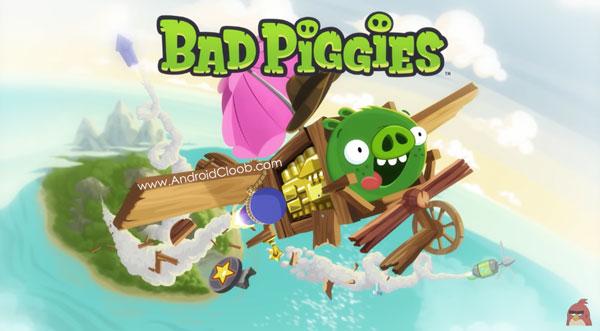 Bad Piggies HD دانلود Bad Piggies HD v2.3.2 بازی خوک های بد اندروید + مود