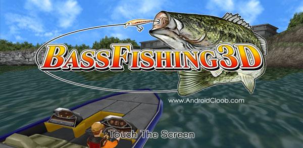 Bass Fishing 3D II دانلود Bass Fishing 3D II v1.1.4 بازی ماهیگیری اندروید + مود
