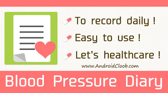Blood Pressure Diary دانلود Blood Pressure Diary Pro v3.1 برنامه فشار سنج اندروید