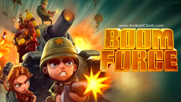Boom Force دانلود Boom Force: War Game for Free v1.9.6 بازی نبرد انلاین اندروید