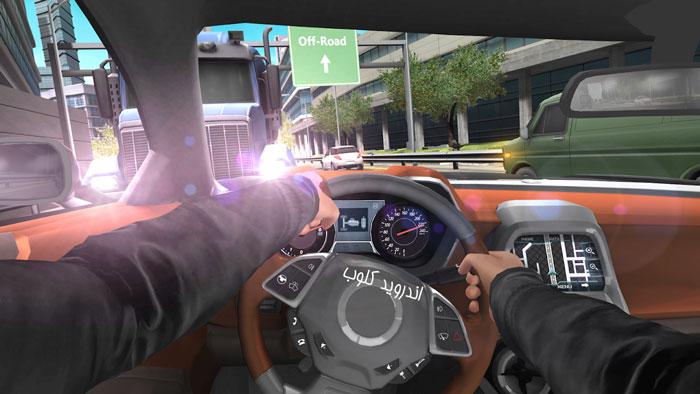 Car In Traffic 2018 دانلود Car In Traffic 2018 v1.1.0 بازی رانندگی در ترافیک اندروید + پول بی نهایت