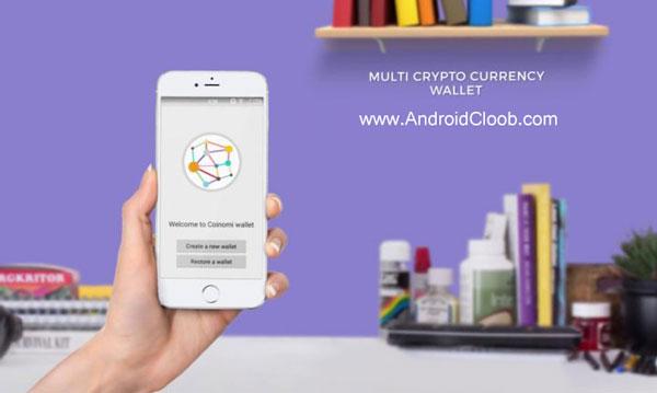 Coinomi Wallet دانلود Coinomi Wallet v1.8.0 کیف پول بیت کوین اندروید