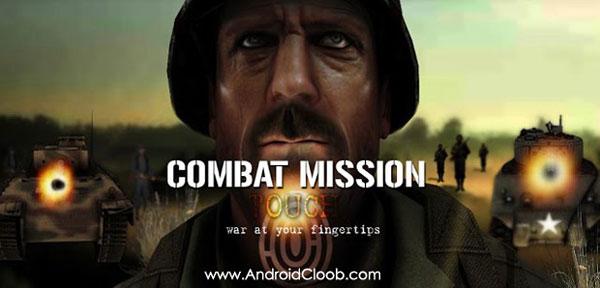 Combat Mission Touch دانلود Combat Mission : Touch v1.52 بهترین بازی جنگی اندروید