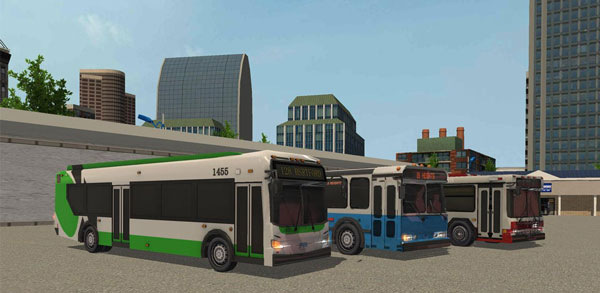 Commercial Bus Simulator 17 دانلود Commercial Bus Simulator 17 v1.0 بازی اتوبوس بین شهری اندروید + مود
