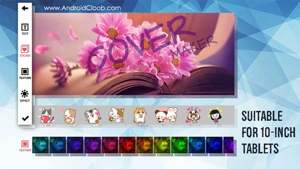 Cover Photo Maker and Designer دانلود Cover Photo Maker & Designer v2.0.1 ساخت و طراحی کاور اندروید