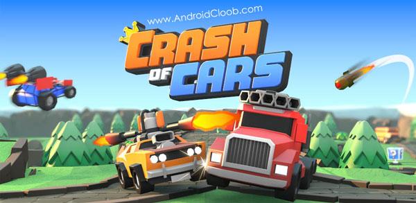 Crash of Cars دانلود Crash of Cars v1.1.24 بازی حمله ماشین ها اندروید + مود