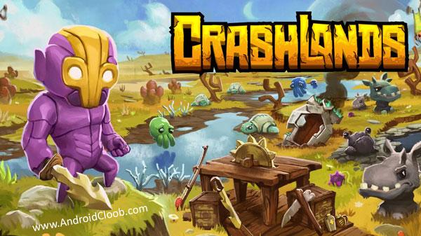 Crashlands دانلود Crashlands v1.2.25 بازی سقوط زمین اندروید
