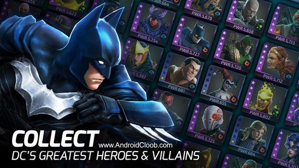 DC Legends دانلود DC Legends v1.11.1 بازی قهرمان افسانه ها اندروید + مود