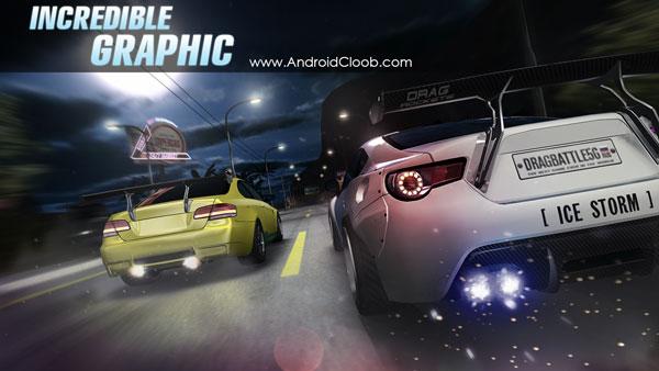 Drag Battle racing دانلود Drag Battle racing v3.15 بازی مسابقات درگ ماشین اندروید + مود