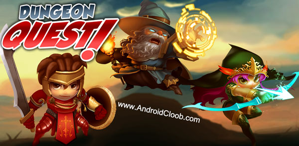 Dungeon Quest دانلود Dungeon Quest v3.0.7 بازی جنگ جادویی اندروید + مود