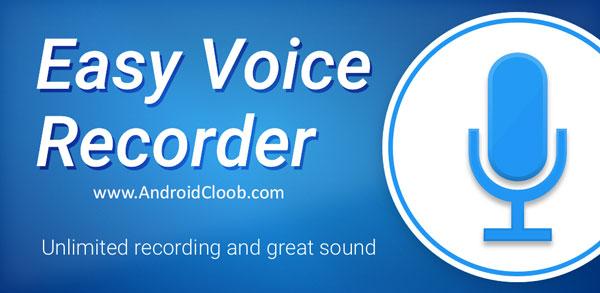 Easy Voice Recorder Pro دانلود Easy Voice Recorder Pro v2.4.7 ضبط صدای محیط اندروید