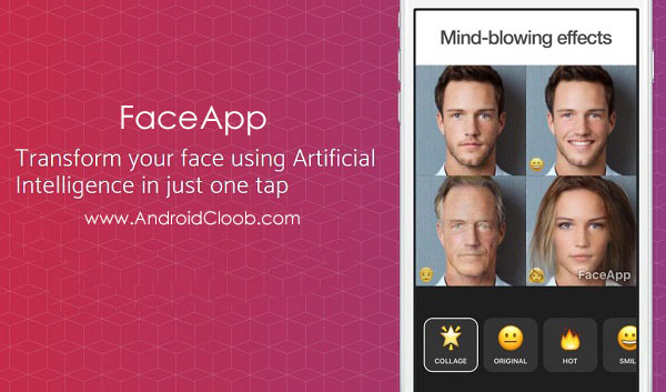 FaceApp دانلود FaceApp v1.0.265 برنامه تغییر چهره انسان اندروید
