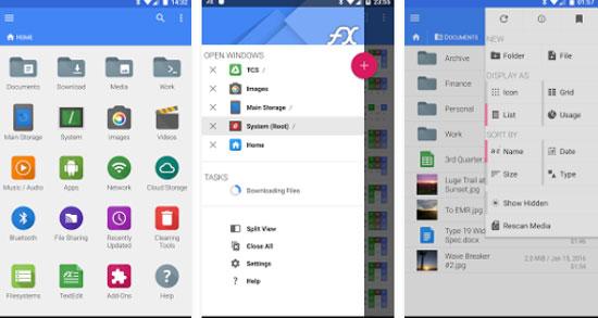 File Explorer دانلود File Explorer v6.0.1.0 مدیریت فایل گوشی هواوی اندروید
