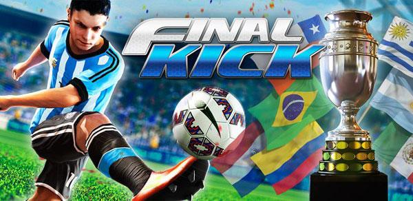 Final kick Online football دانلود Final kick: Online football v5.7 بازی ضربه ایستگاهی اندروید + مود