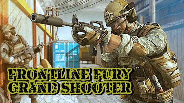 Frontline Fury Grand Shooter دانلود Frontline Fury Grand Shooter v2.0 بازی جنگی تفنگی اندروید + مود