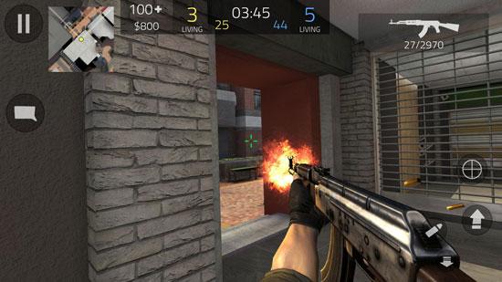 Fwd Assault دانلود Forward Assault v1.08.4 بازی تیراندازی حرکت به جلو برای اندروید + مود