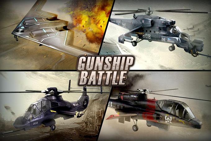 GUNSHIP BATTLE Helicopter 3D دانلود GUNSHIP BATTLE: Helicopter 3D v2.7.4 بازی هلیکوپتر جنگی اندروید