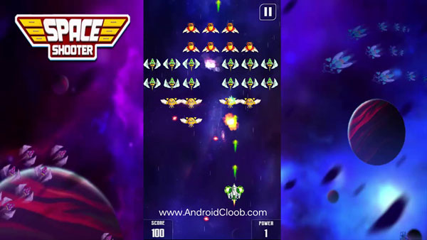 Galaxy Attack دانلود Galaxy Attack: Space Shooter v1.14 بازی حمله سیاره ها اندروید + مود