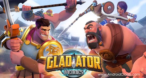 Gladiator Heroes دانلود Gladiator Heroes v1.7.2 بازی گلادیاتور قهرمان اندروید + مود