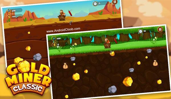 Gold Miner 2018 1 دانلود Gold Miner 2018 بازی جویندگان طلا اندروید