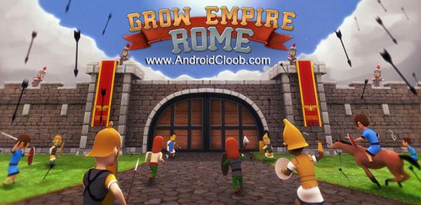 Grow Empire Rome دانلود Grow Empire: Rome v1.2.2 بازی امپراطوری روم اندروید + مود