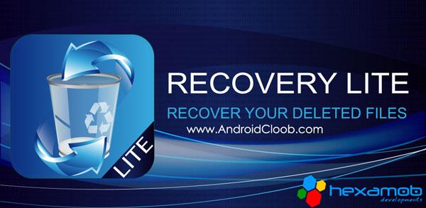 Hexamob Recovery PRO دانلود Hexamob Recovery PRO 5.01 برنامه ریکاوری فایل های پاک شده اندروید