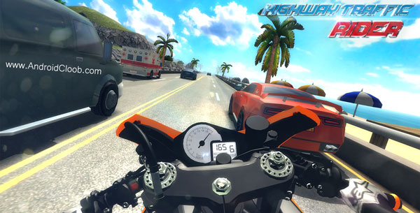 Highway Traffic Rider دانلود Highway Traffic Rider v1.6.2 بازی موتور سواری در ترافیک اندروید + مود