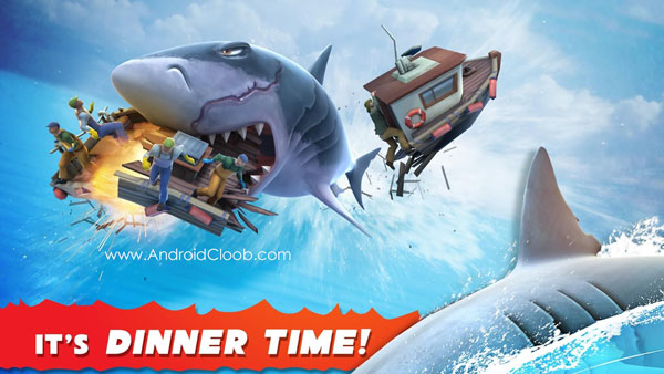 Hungry Shark Evolution دانلود Hungry Shark Evolution v4.8.0 بازی کوسه گرسنه اندروید + مود