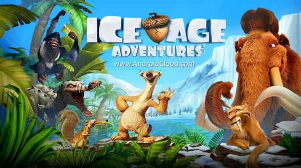 Ice Age Adventures دانلود Ice Age Adventures v2.0.7 بازی عصر یخبندان ماجراجویی اندروید + مود