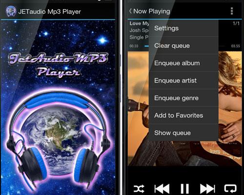 JETaudio Mp3 Player دانلود JETaudio Mp3 Player v1.0 برنامه جت آدیو اندروید