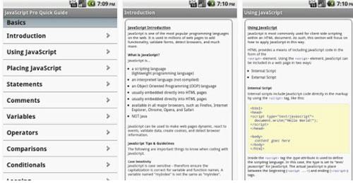 JS Pro دانلود JS Pro v1.8 آموزش JavaScript اندروید