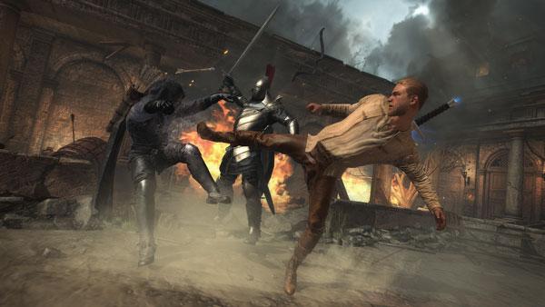 King Arthur دانلود King Arthur v1.3 بازی شمشیر زنی شاه آرتور اندروید + مود