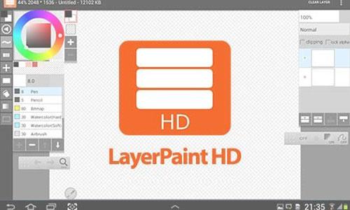 LayerPaint HD دانلود LayerPaint HD v1.7.17 برنامه نقاشی حرفه ای اندروید